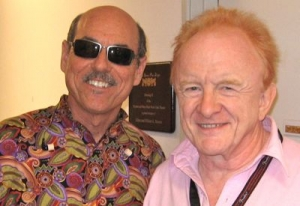 With Peter Asher
