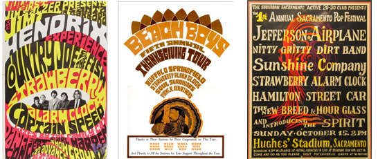 strawberry alarm clock concert posters