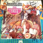 Fan has Strawberry Alarm Clock covered