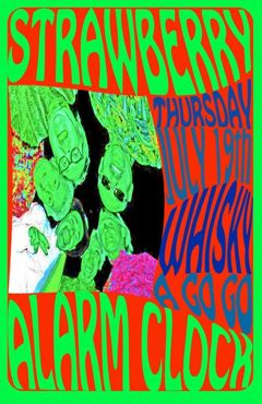 strawberry alarm clock poster for 2012 Whisky a Go Go show